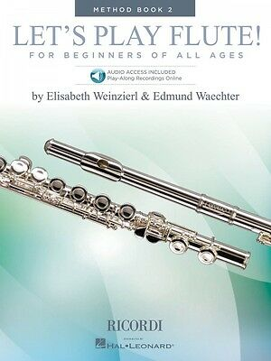 Dutiful Let's Play Flute Method Book 2 Book With Online Audio Woodwind Method 050600097 Instruction Books, Cds & Video Musical Instruments & Gear