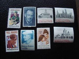 Vereinigte-Staaten-Briefmarke-Y-amp-t-N-1202-1236-1245-1261-1280-1283-1298-99-N