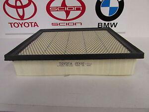 Detalles de Toyota OEM Filtro de aire 17801 0P100 ver título original