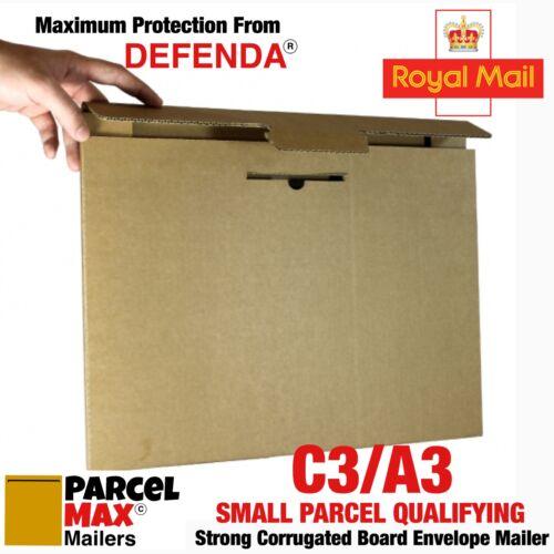 A3 C3 di piccole dimensioni delle particelle in cartone Buste parcelmax Mailer non Board supportato