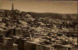 Algerien-Ghardaia-Ghardaja-Sahara-Wuesten-Ort-Heimatbeleg-Postkarten-Format-1940