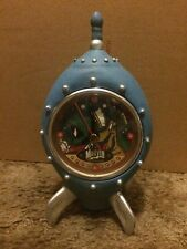 Warner Brothers Marvin The Martian & K9 Spaceship Clock