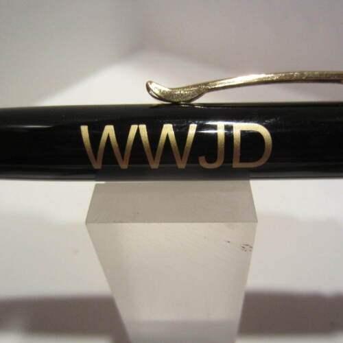 What Would Jesus Do Limited Supply Terzetti WWJD Ballpoint Pen+Pouch//Gift Box