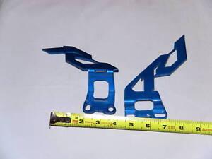 Yamaha R1 Heel Guards 2002 2003 2004 2005 2006 Blue