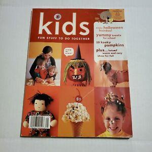 Martha Stewart Kids Halloween Issues Fall Crafts Ebay