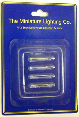 DOLLS HOUSE lighting 12 volt BIPIN FLAME REPLACEMENT BULB 1//12-1//24 PK4 LT9039