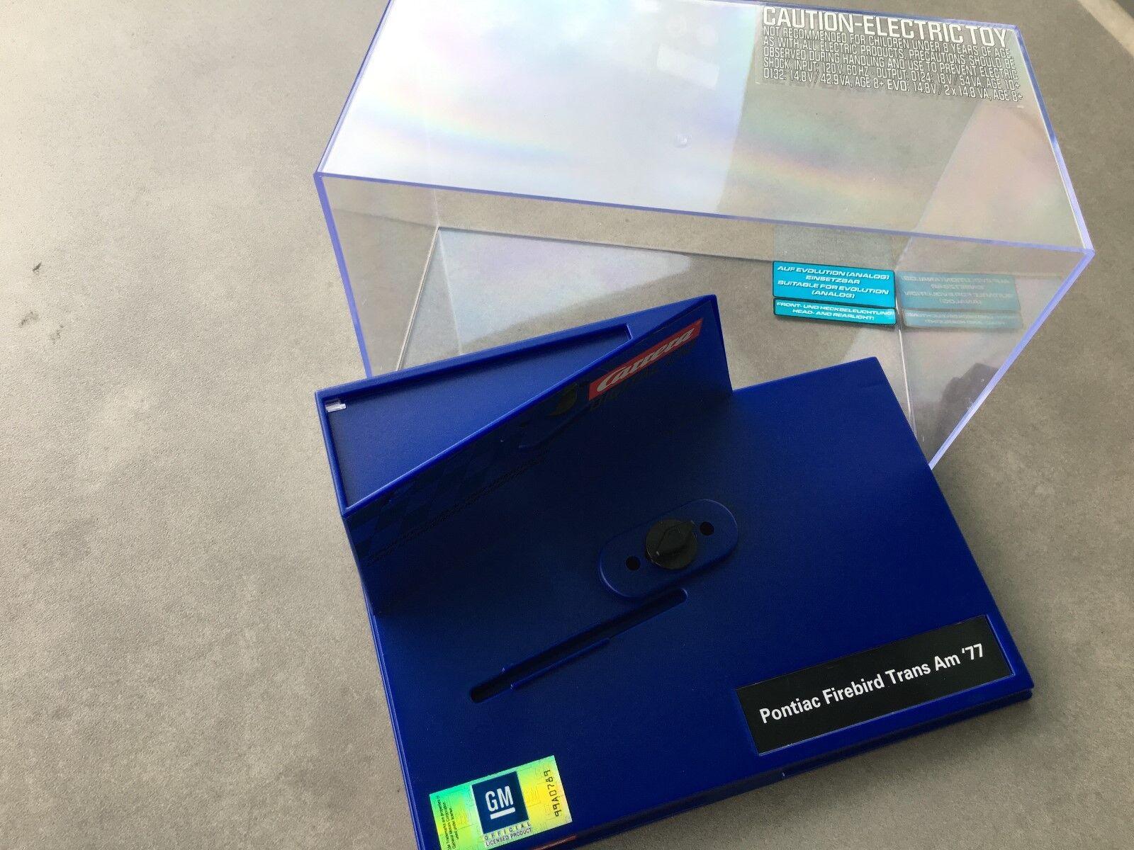 10 x Carrera Digital 132 Leerbox - Box - Confezione - inkl.schraube NUOVO FOTO