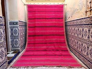 "Vintage Moroccan Rug Handmade Tribal Azilal Rug Carpet wool Berber 10'3"" x 5'8"""