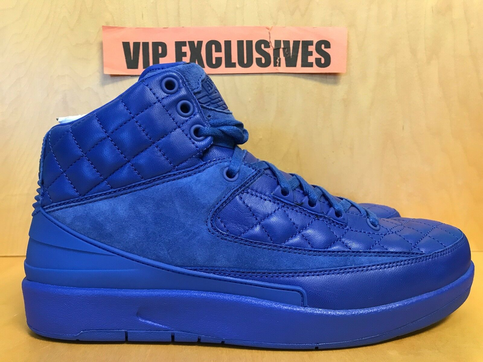 NIKE AIR JORDAN 2 RETRO 717170405 DON CAzul Brillante II 717170405 RETRO  color más raro bdb6c4