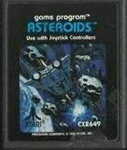 Asteroids - Atari 2600 Game Authentic