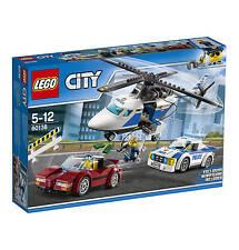 LEGO® CITY - RASANTE VERFOLGUNGSJAGD - Lego 60138 - NEU