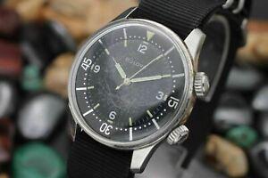 C-1962-BULOVA-Automatic-Super-Compressor-Stainless-Steel-Men-039-s-Diver-039-s-Watch