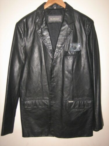 "A Lovely Stylish Men's Black Ben Sherman JacketCoat size Large PitPit 22"" afficher le titre d'origine"