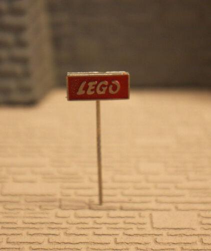 LEGO ORIGINAL 60er JAHRE ANSTECKNADEL ROT  GUTER ZUSTAND SELTEN H6//43