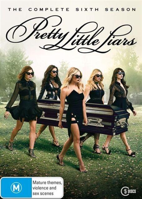 Pretty Little Liars : Season 6 (DVD, 2016, 5-Disc Set)
