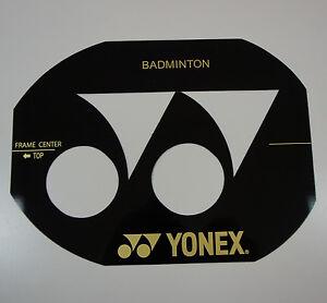 Yonex Badminton Racquet String Bed Stencil Card AC418EX, Made in Japan