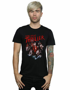 Michael Jackson Men/'s Thriller Ghouls T-Shirt
