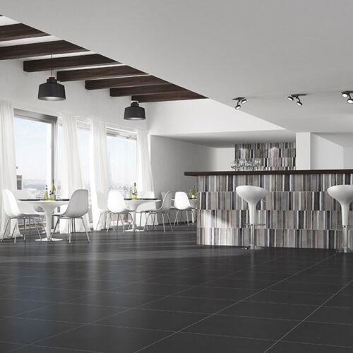 10x10cm Sample of 31.6x31.6 Monotech Grafito Wall /& Floor Tile