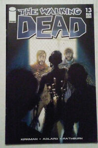 THE WALKING DEAD 13 1ST PRINTING ROBERT KIRKMAN CHARLIE ADLARD TONY MOORE
