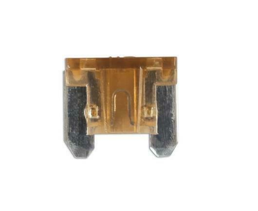 25A 100x Low Profile Micro Mini Blade Fuses For Auto Car Van Motorbike 5A