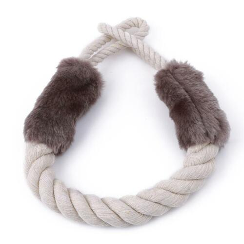 Door Handles Anti-Collision Pet Chewing Cotton Rope Protective Stopper Cool DS