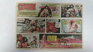 CONAN-THE-BARBARIAN-Newspaper-Comic-Strip-Sunday-December-24th-1978