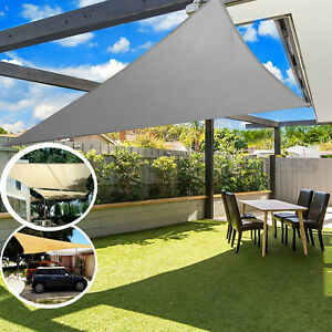Details About Sun Sail Shade Awnings Canopy Garden Cover Waterproof Patio Sunscreen Large