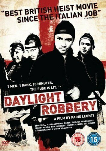 1 of 1 - DAYLIGHT ROBBERY DVD Geoff Bell Justin Salinger New and Sealed UK Release R2