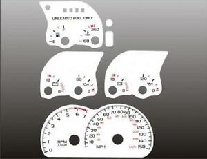 1993-1996-Camaro-150-mph-V8-Dash-Cluster-White-Face-Gauges-93-96