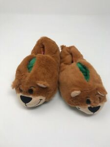 ae8d16ab8d6 NEW FlipaZoo KIDS TODDLERS SLIPPERS SIZE Small 10 11 ALLIGATOR BEAR ...