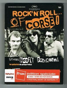 ♫ - ROCK' N' ROLL... OF CORSE ! - HENRY PADOVANI - 2 DVD SET - NEUF NEW NEU - ♫