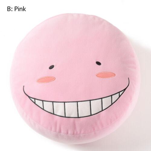 NEW Assassination Classroom Korosensei Pink Big Face Cushion 33cm BANP49443 USA
