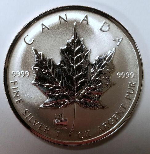 1998 Canada Silver Maple Leaf Titanic 86th Anniversary Privy Choice Uncirculated