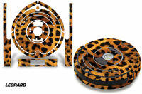 Skin Decal Wrap For Irobot Roomba 560 Vacuum Stickers Accessory Kit Leopard