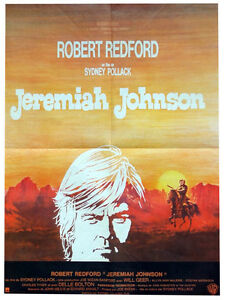 Affiche-60x80cm-JEREMIAH-JOHNSON-1971-Pollack-Robert-Redford-Will-Geer-BE