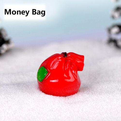 Toys Miniature Snowman Micro Landscape Christmas Decor Santa Claus Figurines