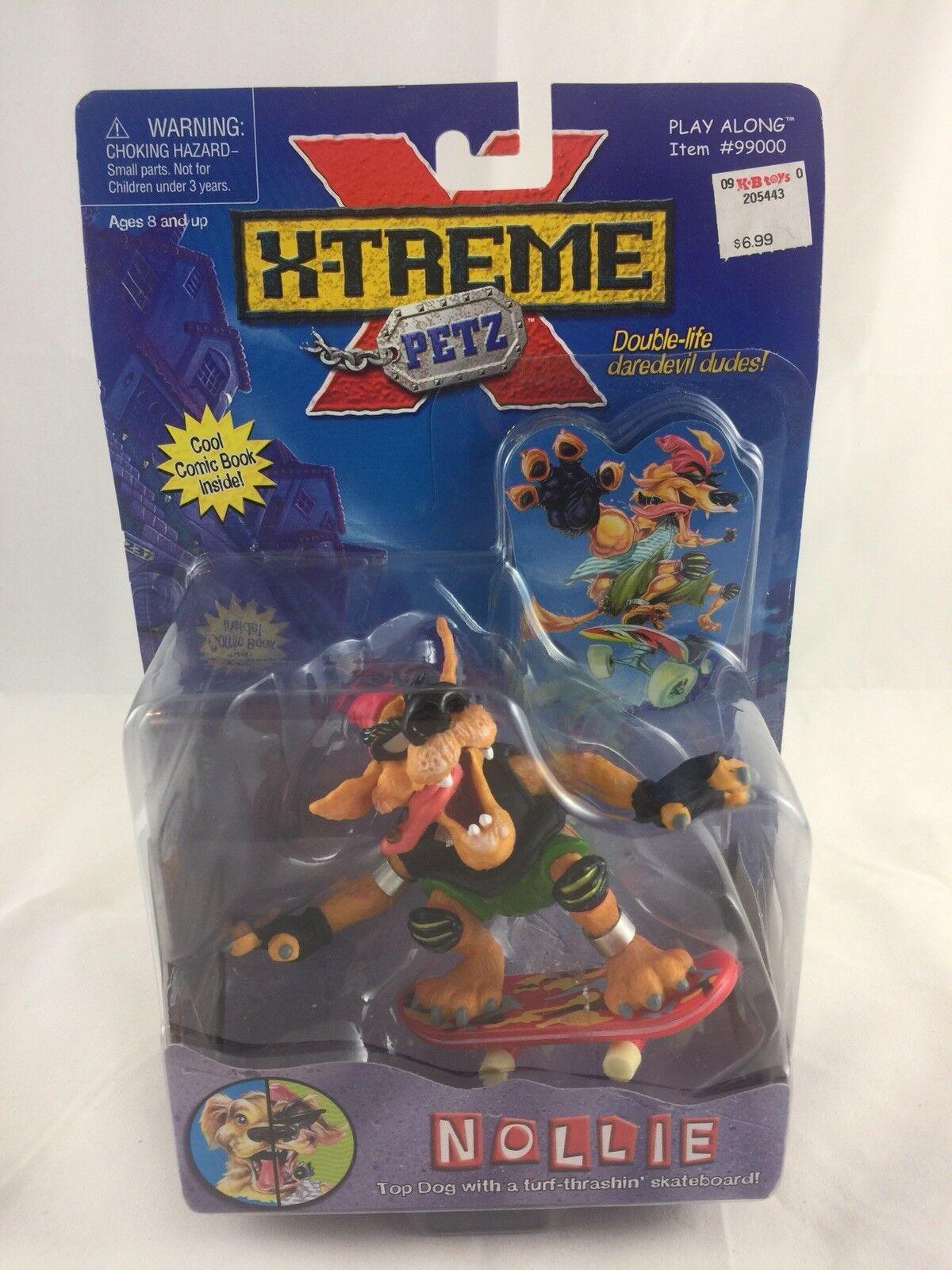 Xtreme Petz Nollie Action Figure Rare Sealed