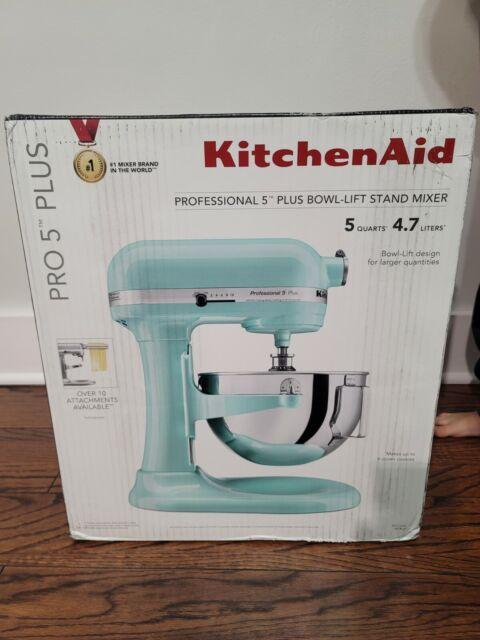 KitchenAid Stand Mixer Professional 5 Plus 5 QT Bowl-Lift - Ice Blue KV25G0XIC