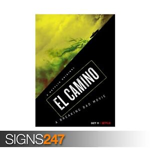 BREAKING-BAD-MOVIE-EL-CAMINO-ZZ081-MOVIE-POSTER-Print-Art-A0-A1-A2-A3-A4