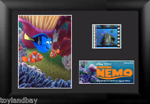 Film Cell Genuine 35mm Framed & Matted Walt Disney Finding Nemo S1 USFC5727