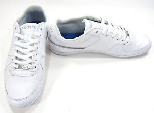 c7d9b74450c3df LaCoste Shoes Taloire Sport Nal SPM Leather White Sneakers Size 9.5 ...