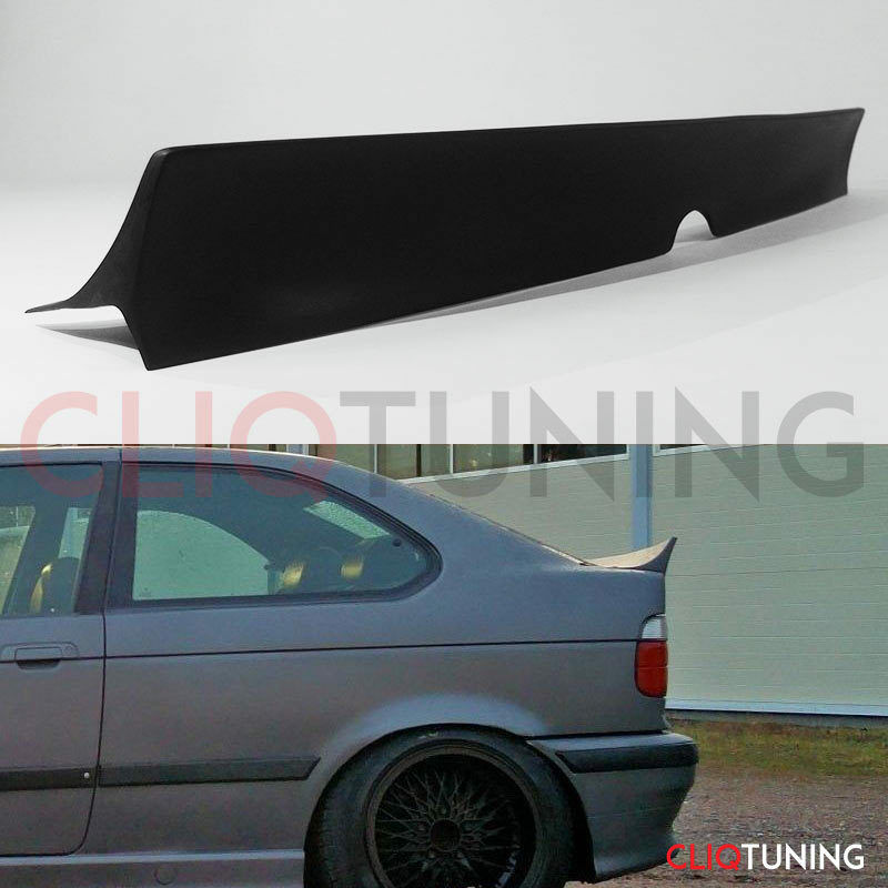 BMW E36 COMPACT HATCHBACK CSL STYLE WING SPOILER rear trunk lip for drift