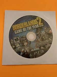 🔥 PS3 PLAYSTATION 3 🔥💯WORKING GAME DISK ONLY 🔥 BORDERLANDS 2 GOTY ED