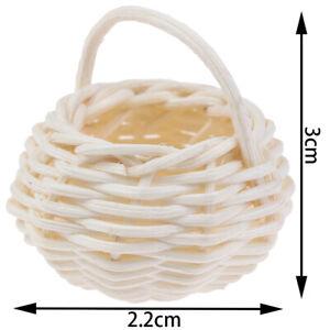 1-12-Dollhouse-Miniature-Mini-Cute-Bamboo-Basket-Decoration-Accessori-JCAU