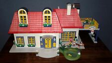 PLAYMOBIL 3965 MODERN HOUSE OWNED BY COLLECTOR-99% COMPLETE-EXCELLENT CONDITION!