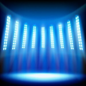 Stage Lighting Background Prom Decoration Photography