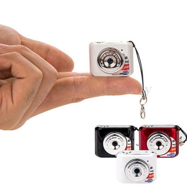 Smallest Mini Portable Digital Camera Video Recorder Camcorder Cam Child Gift
