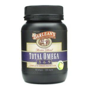 Total Omega 3-6-9 Barlean's 90 Caps 705875100205   eBay