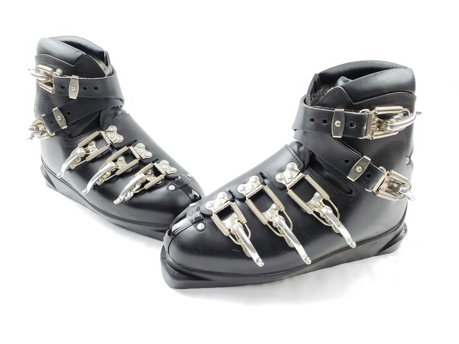 VINTAGE SR Extreme Leather Ski Boots Made  in Austria Men's Size 9 - NEW  shop now
