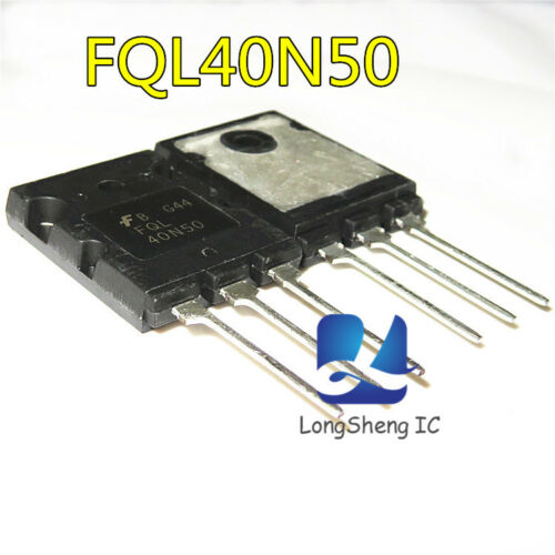 5pcs FAIRCHIL FQL40N50 TO-3PL 500V N-Channel MOSFET Chip new